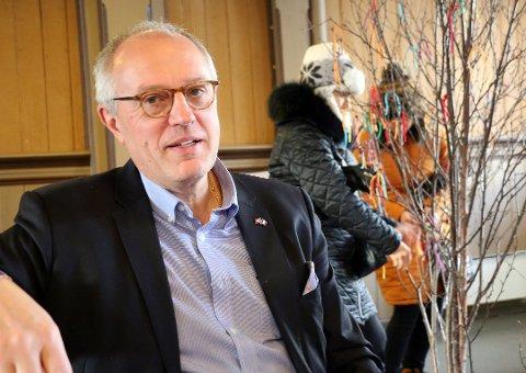 SLUTTER: Nils-Harald Opsahl har sagt opp sin stilling som kirkeverge.