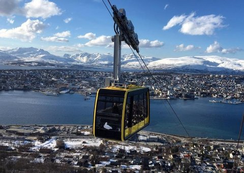 ATTRAKSJON: Fjellheisen er en av de viktigste turistattraksjonene i Tromsø.