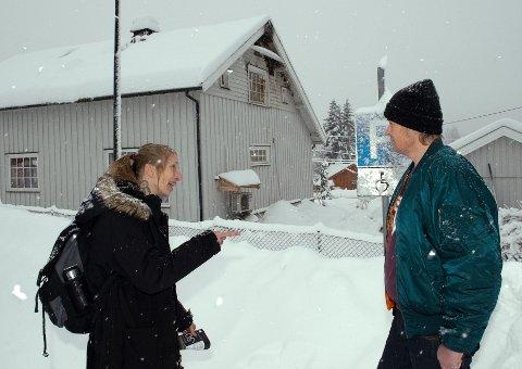 BRANNOFRE: Siv Anita og Bjørn Henrik Bredli ble plutselig husløse midt i jula etter det begynte å brenne i andre etasje.
