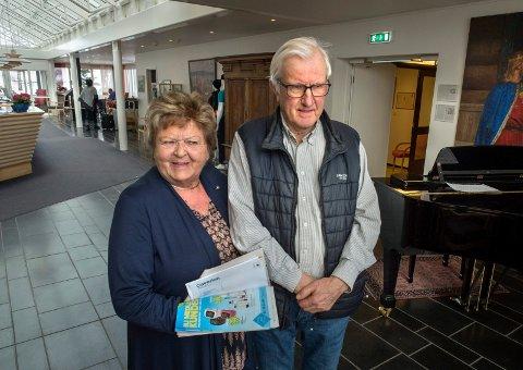 Arne Røstøen Nielsen og Anne Elisabet Bye Nielsen startet opp familiebedriften Steffensrud rehabiliteringssenter for 52 år siden.