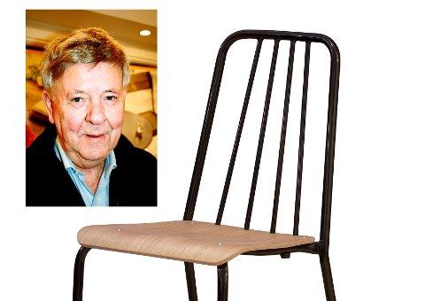 TIL Å STOLE PÅ: Designet til Hans Brattrud har overlevd tidens tann. Her avbildet med Grorud-stolen som Objekt er nominert for nå. (ARKIVBILDER)