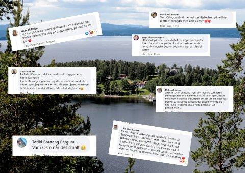 HER VAR VI: Dette skriver leserne om hvor de var 22.juli. Det strømmer fortsatt inn med kommentarer på OAs Facebookinnlegg.