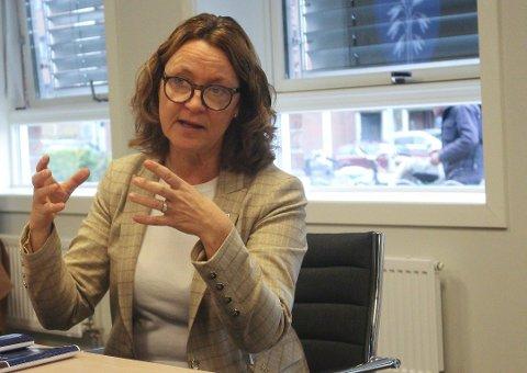 FHI: Marit Kronborg sier at de har kontaktet FHI på bakgrunn av at de ser en raskere smitteutvikling.