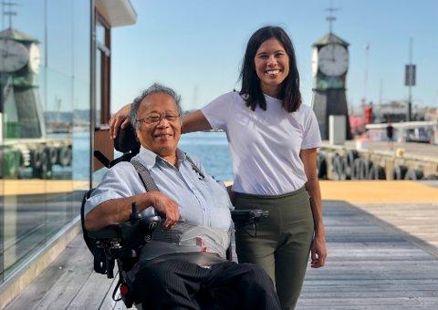Lan Marie Berg Nguyen tror ikke faren Khanh Thanh Nguyen hadde overlevd om han hadde blitt i Vietnam.