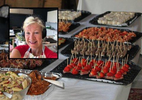 BLE FOR TØFT: Brit Stensgaard avvikler driften av cateringfirmaet Løktørka AS etter åtte år.