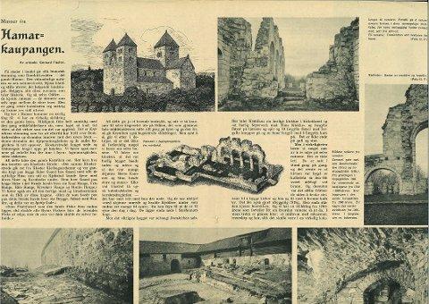 ARTIKKELEN: Her er artikkelen som er revet ut av en publikasjon som Bækkevold mener er fra 1949.