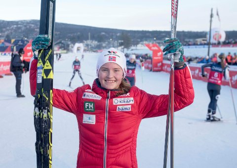 OL-KLAR: Gyda Westvold Hansen skal representere Norge i kombinert i ungdoms-OL.