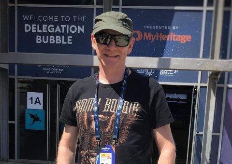 GIR SEG: Olav Viksmo Slettan gir seg som kommentator for Eurovision på NRK etter ti år.