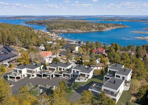 Stor interesse for praktiske boliger med nærhet til sjøen på Torød.