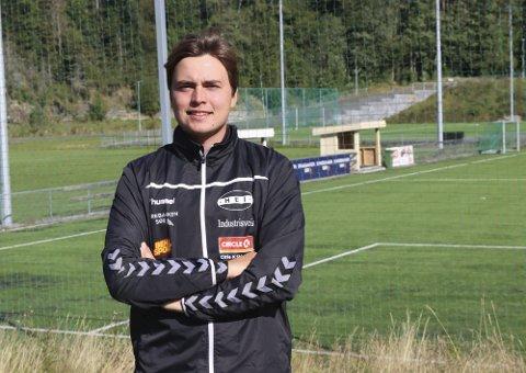GLEDER SEG: Mats Tvedt, som er sportslig leder i Hei, gleder seg stort over at Porselenscupen endelig kan bli arrangert i Porsgrunn.
