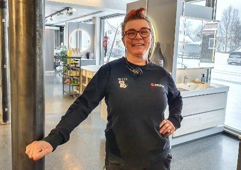 Eksempel: Daglig leder Hanne Arstad Stenvall på Comfort Mosjøen brukes som eksempel for å lokke flere kvinner inn i VVS-bransjen.