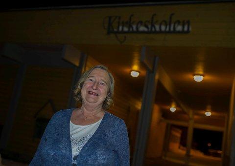 LÆRER I ¤¤ÅR: Olaug Ringkjøb har stortrivdes på Kirkeskolen, og etter hun pensjonerte seg har hun jobbet som vikar.
