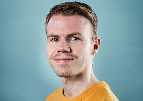 FRA FILMSTUDENT TIL FILMSKAPER: Aleksander Dokkeberg har skapt en nett-dramaserie som nå er tilgjengelig på Youtube.