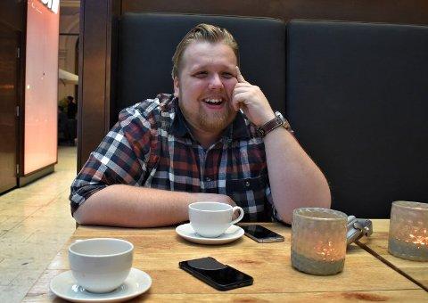 HARSELERER: Halvor Johansson fra Drammen hadde fire show i Hønefoss i helga. Tre av dem var fantastiske, sa han på Radio Rock onsdag.