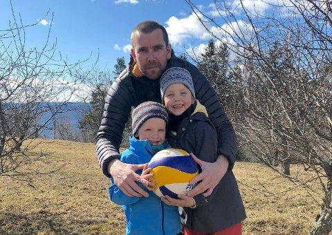 NYTT LIV? Alexander Jacobsen har spilt volleyball siden ungdomstiden, og vil sørge for at barn og unge i distriktet får et godt tilbud slik han selv gjorde.