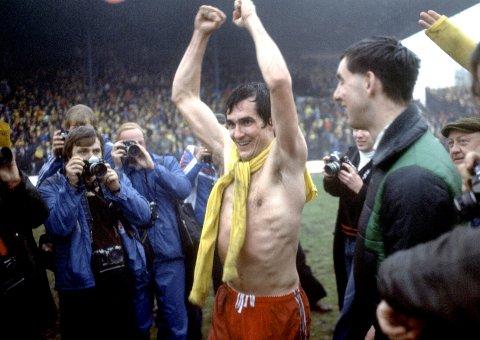 FØRSTE NM-GULL: Tom Lund ble matchvinner i cupfinalen mot Bodø/Glimt i 1977. FOTO: NTB scanpix