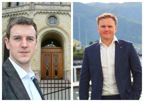KJEMPA: Erling Sande (Gloppen) toppar nominasjonsnemnda sitt framlegg til stortingsvalliste for Senterpartiet i Sogn og Fjordane. Aleksander Øren Heen (Årdal) står på andreplass.