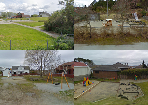 Noen av disse lekeplassen vil kommunen nedprioritere, mens andre oppfordres naboer til å ta vare på.