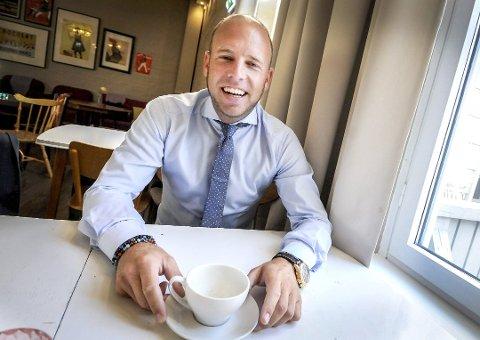 FLERE PÅ LAGET: Emil Eriksrød ønsker seg flere investorer i R8. Pengene skal brukes til å finansiere videre vekst.