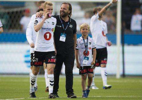 TENKER NYTT: Daglig Leder Einar Håndlykken forteller at klubben vil satse på å hente flere unggutter i årene som kommer. Foto: Trond Reidar Teigen / NTB scanpix