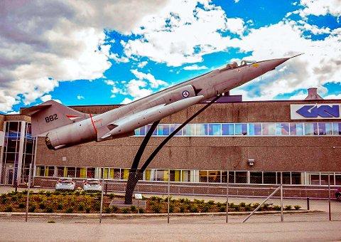 USIKKERHET: Flybransjen sliter, og de ansatte ved GKN Aerospace på Kongsberg lever med en stor usikkerhet hengende over seg. Dette er trolig den bedriften i Kongsberg med flest ansatte fra Notodden.