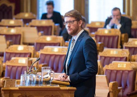 I UTDANNINGSKOMITEEN: Stortingsrepresentant Martin Henriksen (Ap) fra Troms sitter i Stortingets utdannings- og forskningskomité.