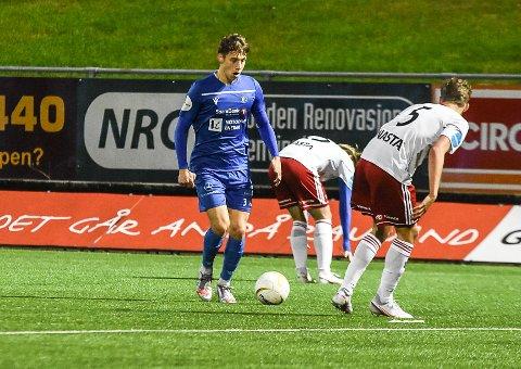 KÅRET: William Schjølberg Husebø ble kåret til årets spiller i 2020 av Notodden Fotball. Nå skal han og resten av laget endelig få spille kamp igjen.