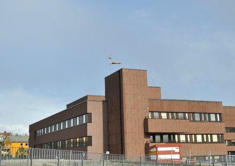 Sykehuset i Kristiansund.