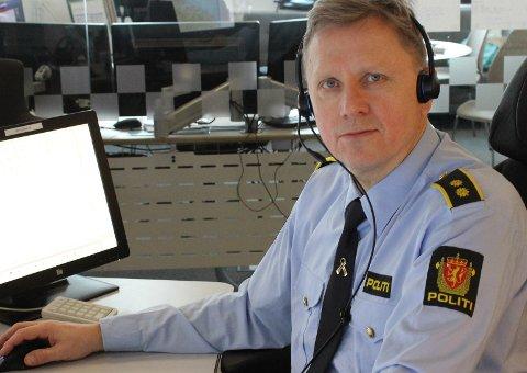 – Både kvinnen og patruljen trodde på mannens forklaring, sier operasjonsleder Borge Amdam.