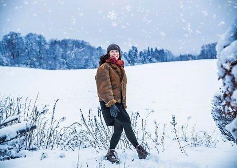 JULEDEBUTANT: Maj Britt Andersen er klar for å juleturnere seg for første gang.