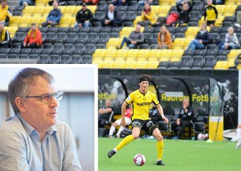 VIL GARANTERE: Kommunedirektør Bjørn Fauchalds innstilling er at Vestre Toten kommune skal gi Raufoss Fotball en utvidet lånegaranti. Arkivbilder
