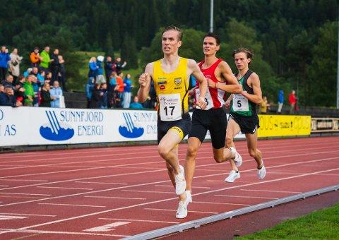 «SKREMMENDE» BRA: Trener Henrik Sandstad var mildt sagt imponert over løpet til Mathias Vanem Aas lørdag.