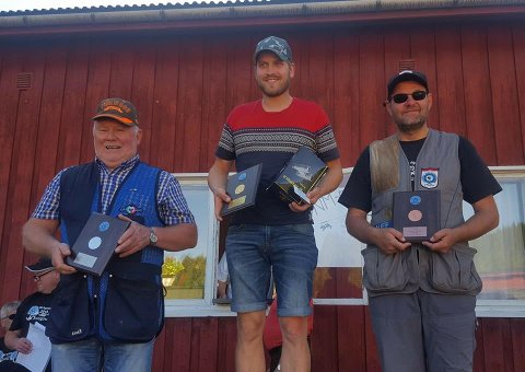 Marius Sørensen kunne innta toppen av NM-pallen etter å ha skutt fullt hus både i innledende runde og i finaleomgangen.Kai Haug fra Eidskog ble nummer to, mens bronse gikk til Erik Børli fra Kongsvinger.