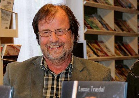 Lasse Trædal har skrevet mange bøker, flere av dem om arbeidsfolk og tidligere tiders arbeidsliv i vårt distrikt. Arkivfoto
