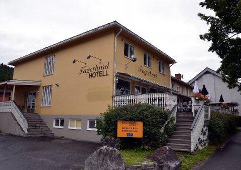 FAGERLUND: Hotellet, med deler av bygningsmassen datert tilbake til 1938, er lagt ut på Finn.