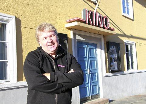 Kinofest: – Vi har mye spennende på plakaten – kom og se, lokker kinosjef i Drøbak, Pål Andresen. Foto: Mariann L. Dahle