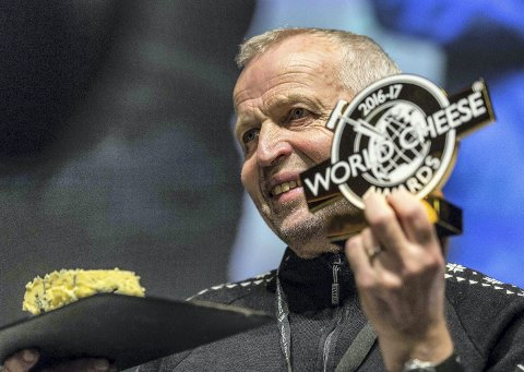 Verdens beste: Gunnar Waagen og Tingvollost. (Arkiv)