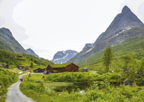 Leteaksjon: En mann i 60-åra gikk feil, og endte opp et helt annet sted enn Innerdalshytta, som var målet for turen.Arkivfoto