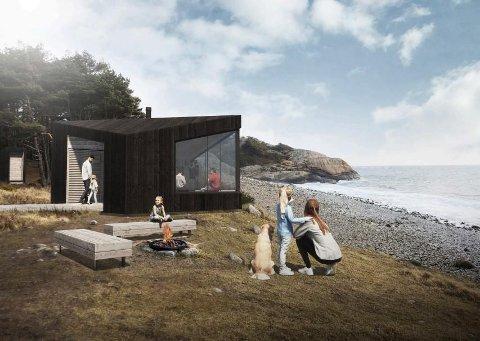 Denne er snart å se i Gjerstads natur.
