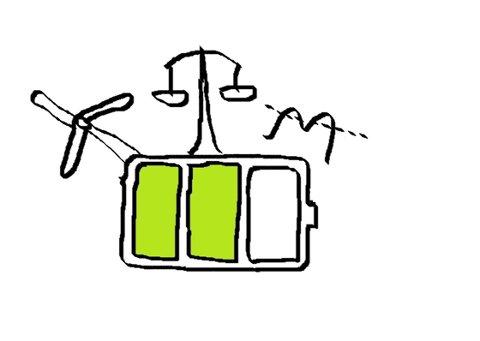 NVE har laget faktaark om batterier som skal kunne brukes i kraftsystemet.