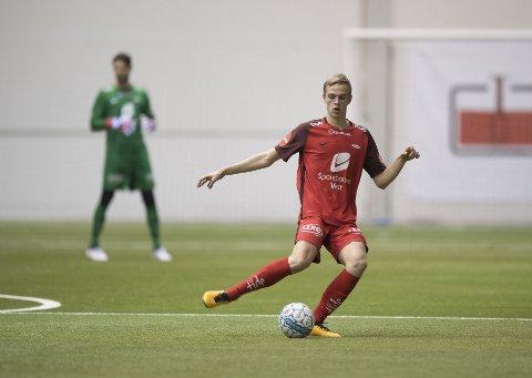 Nicholas Marthinussen kan få sin Brann-debut mot Sandviken, to måneder etter at han trente med A-laget for første gang.