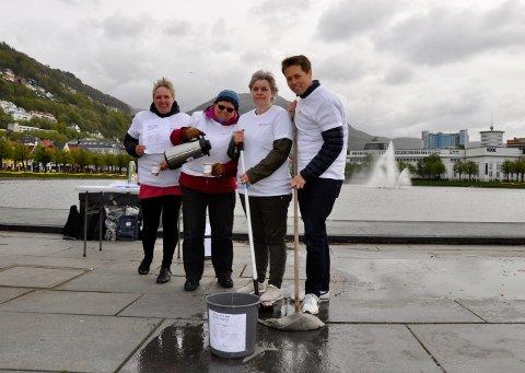 Representanter fra Den norske kirke. Bente Lill Madsen, Solveig Sjursdatter, Møyfrid Opheim og Tor Andrè Ljosland