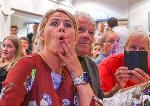 Monica Myrvold Berg mener mulighetene er gode for samabeid ut ifra de foreløpige valgresultatene.