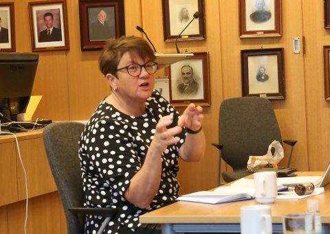 Ordførar Anne Kristin Førde (Ap) vil ikkje sleppe til Davik utviklingslag i saka om Klokkartunet.