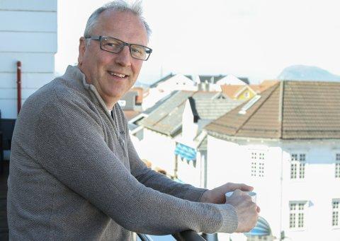 SPENT: Øyvind Østrem ser fram til å starte opp i stillinga som HR-sjef i Fjord1.