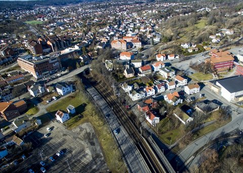 Det er ikke satt av en krone til Grønli stasjon i årene frem til 2033. Her skulle stasjonen bygges.