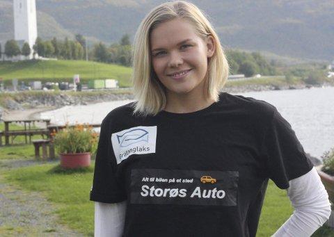 HJEMME PÅ BESØK: Ingeborg Vassbakk Løyning er jenta fra Bjerkvik som flyttet for å sate. Nå skal hun kvalifisere seg til OL neste sommer. Foto: Sverre Ruud Ellingsen
