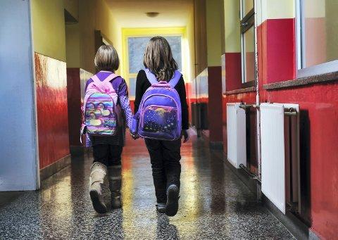 PÅ SKOLEN: Nasjonale prøver kartlegger elevenes ferdigheter i flere fag. Nå er resultatene klare.