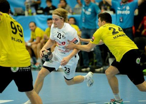 VANT: Tidligere Falk-spiller Magnus Fredriksen og hans Elverum fikk mer problemer med Falk, enn de forventet onsdag.