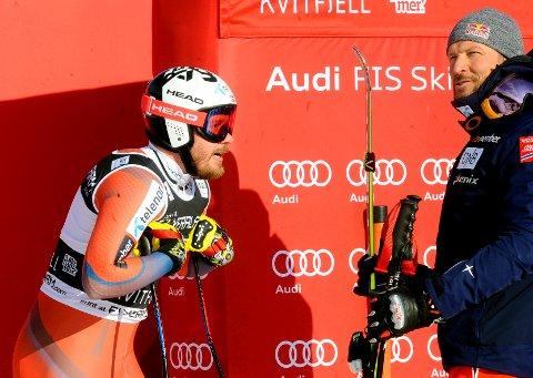 Kjetil Jansrud ble nummer ni i onsdagens verdenscupavslutning i utfor i Åre. Aksel Lund Svindal endte på fjerdeplass.